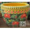 供应陶瓷手工雕刻鱼缸