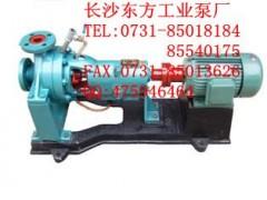 长沙水泵卧式单级单吸热水循环泵100R-57