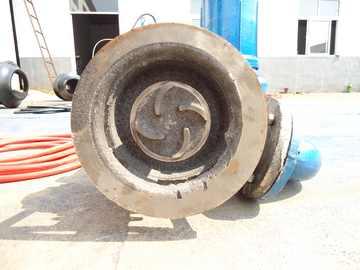 耐腐蚀不锈钢排污泵底部