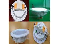 压铸LED筒灯外壳 5寸一体LED筒灯外壳批发