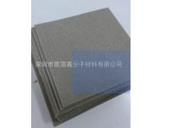 质顶专业生产金属海棉全方位带胶带布导电海棉