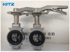 北泽10xJSME短颈蝶阀 不锈钢UB型蝶阀(蜗轮式)