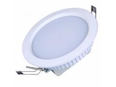 白光高亮度8寸压铸LED筒灯配件价格