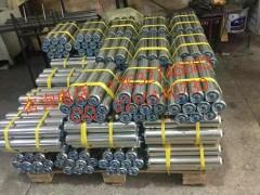 专业生产(镀锌滚筒)(无动力滚筒)(不锈钢滚筒)价格质量保证