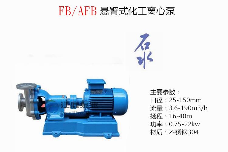 FB化工泵