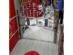 六柱红外超市感应门,药店单向入口摆闸