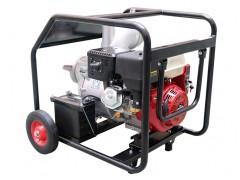 大流量6寸汽油机抽水泵能移动电启动就是好用