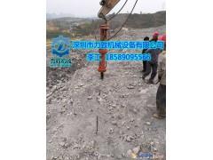 采石场石灰石开挖不用放炮就可以开采的方法